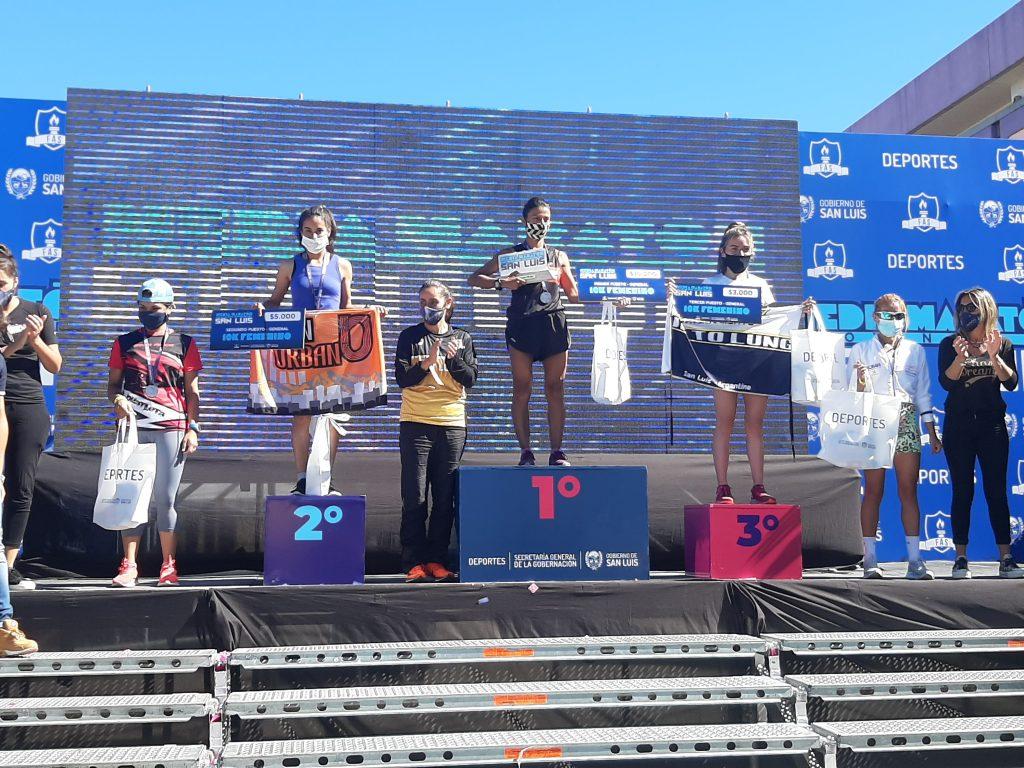 Luis Molina y Rosa Godoy ganaron el medio maratón de San Luis 18