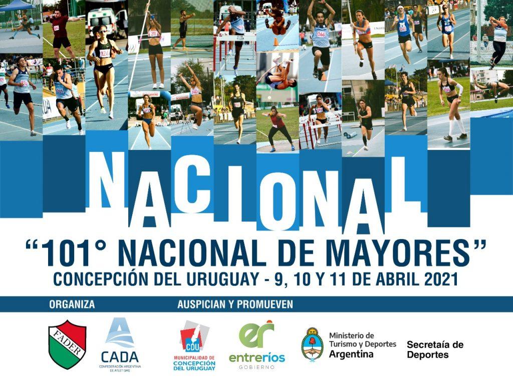 101 nacional de mayores concepcion del uruguay 9 10 y 11 de abril de 2021