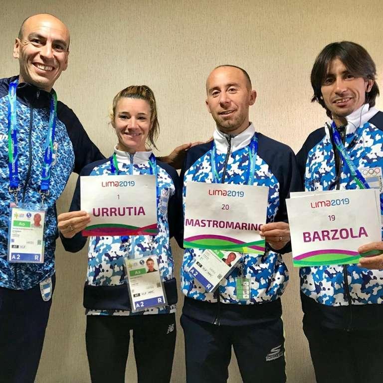 Tres argentinos en el maratón de los Panamericanos 1