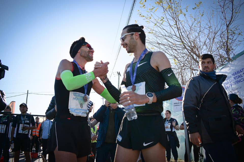 Bruno ganó el medio maratón de Neuquén 1