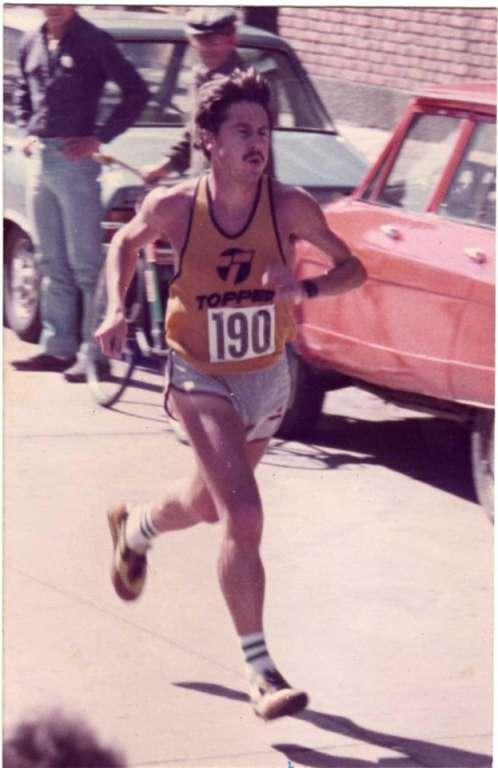 Raúl Llusá, a 40 años de su récord en maratón 6