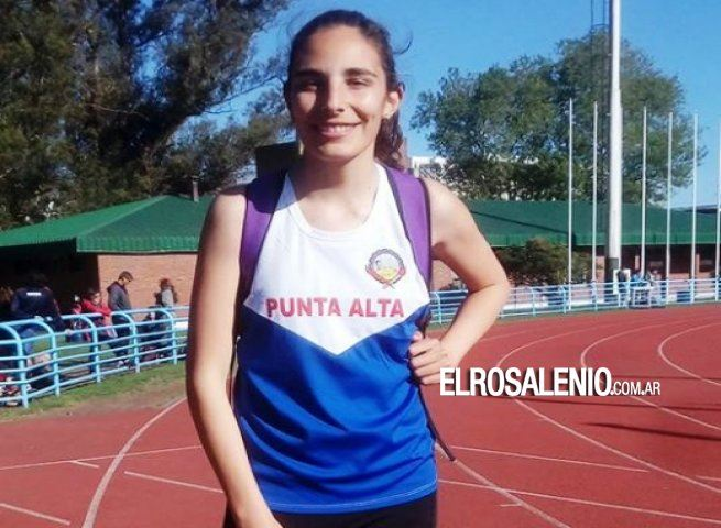 Silvina Ocampos alcanzó los 12.52 en triple 4