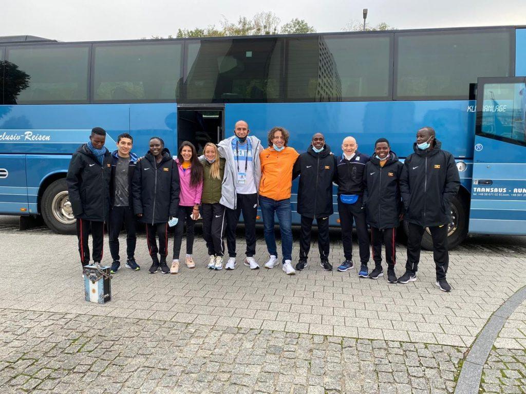 El equipo argentino se despidió de Gdynia junto al campeón Kiplimo 1
