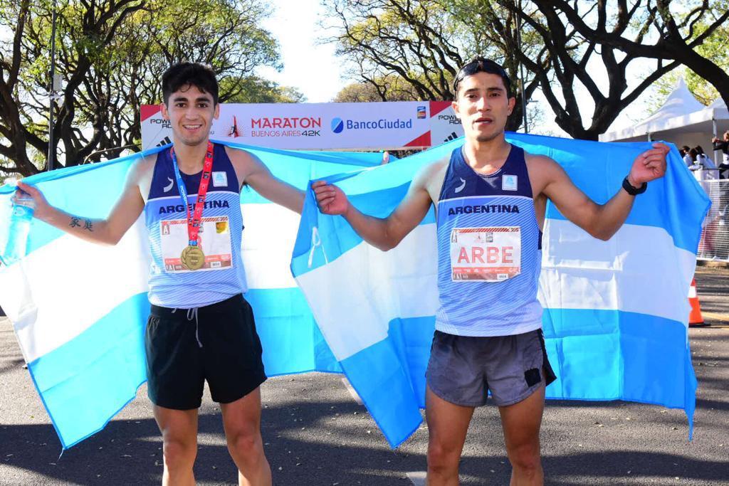 La gesta de Arbe y Muñoz en el maratón 2
