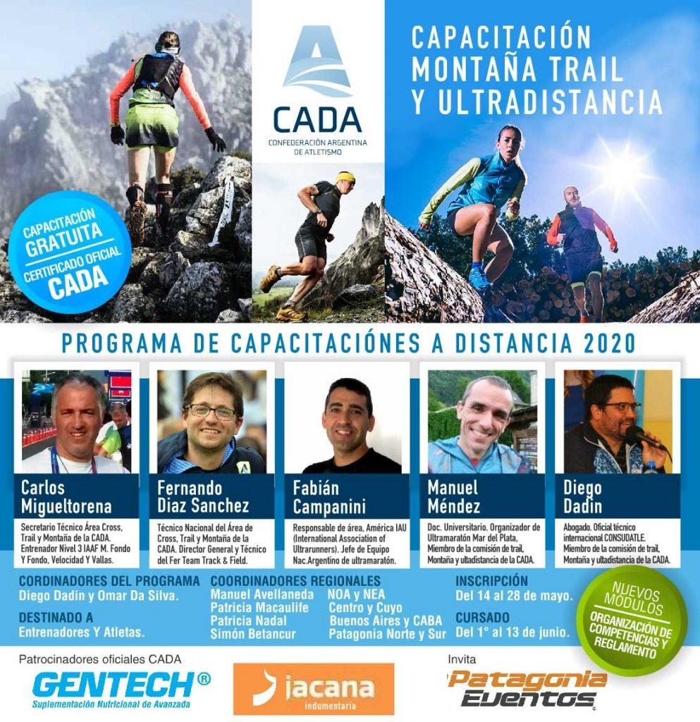 Apertura de la Capacitación de Montaña Trail y Ultradistancia 1