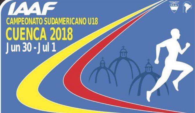 Campeonato Sudamericano U18 - Cuenca, ECU. 1