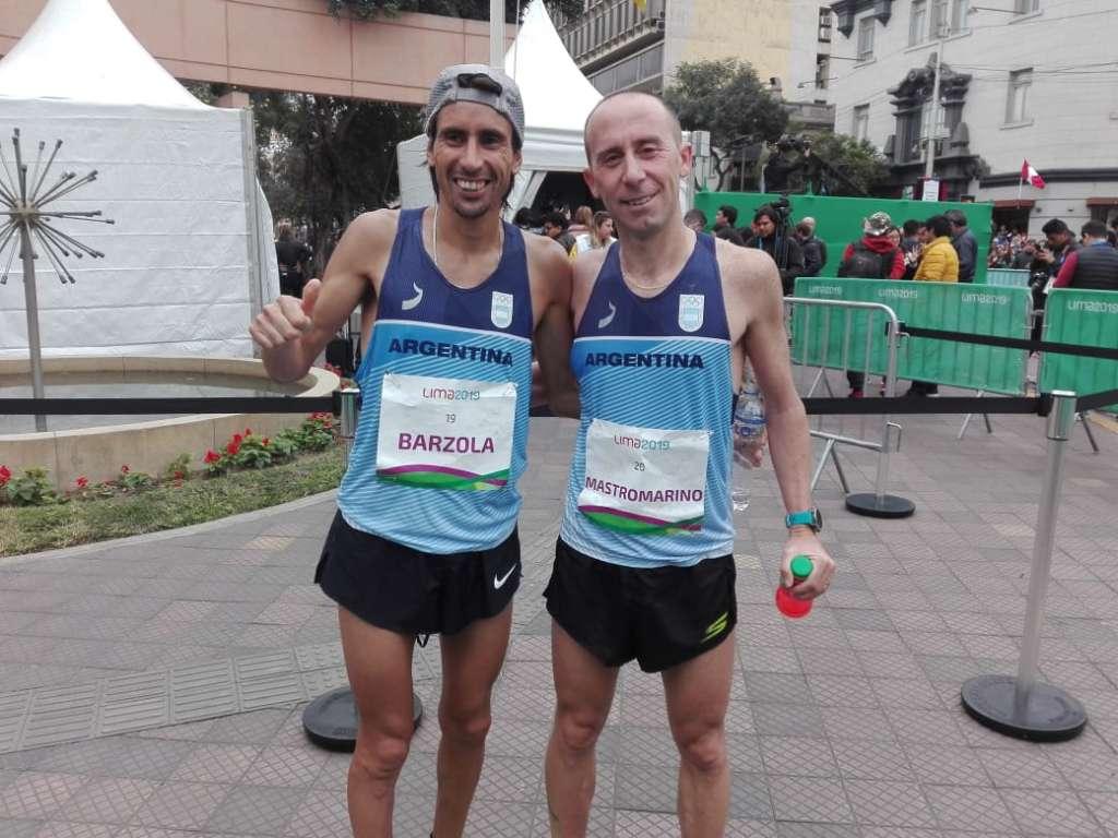 Los argentinos, en el maratón panamericano 2
