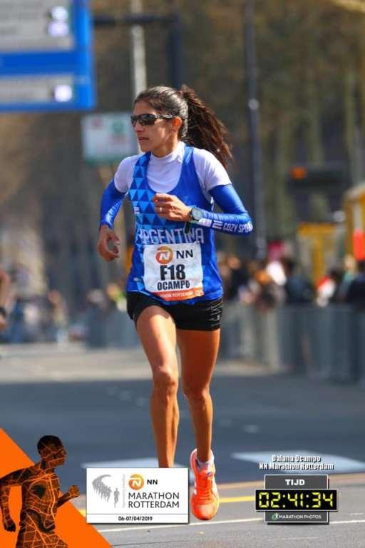 Daiana Ocampo y sus sueños en maratón 1