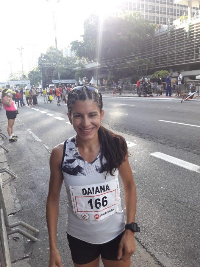 Daiana Ocampo quedó 11a. en la San Silvestre 21
