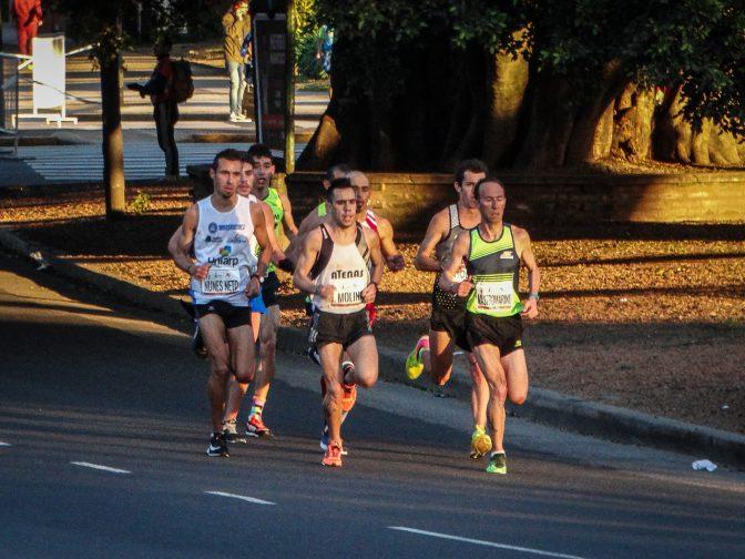 La Argentina y su equipo para el Sudamericano de Maratón 1