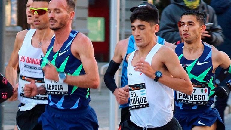 Eulalio Muñoz, con el objetivo en el maratón olímpico 2