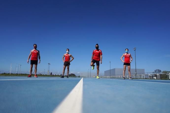 Vuelta a los entrenamientos en el Parque Olímpico 1