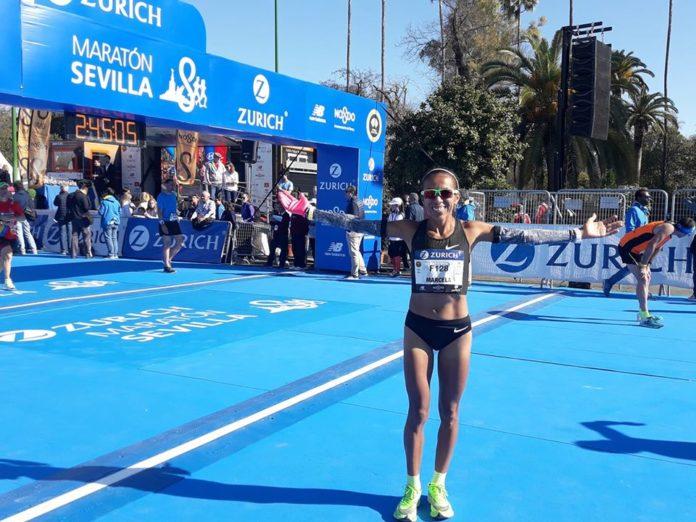 Marcela Gómez y el foco en los Juegos 4
