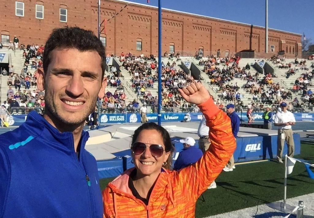 Germán Chiaraviglio 5° en los Drake Relays con 5,50 10
