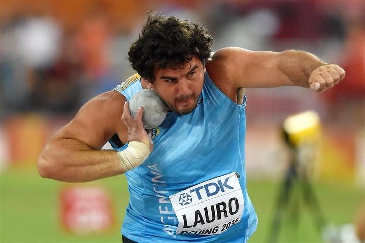 Medalla de bronce para Germán Lauro en Lima 2