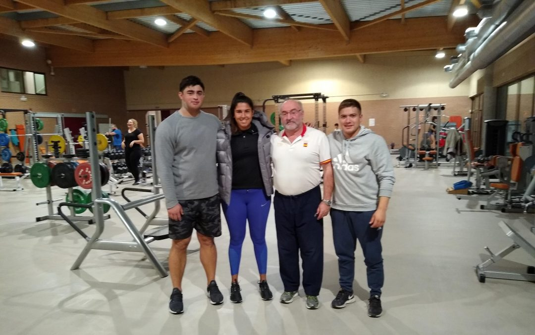 Atletas del Programa TAR en León 1