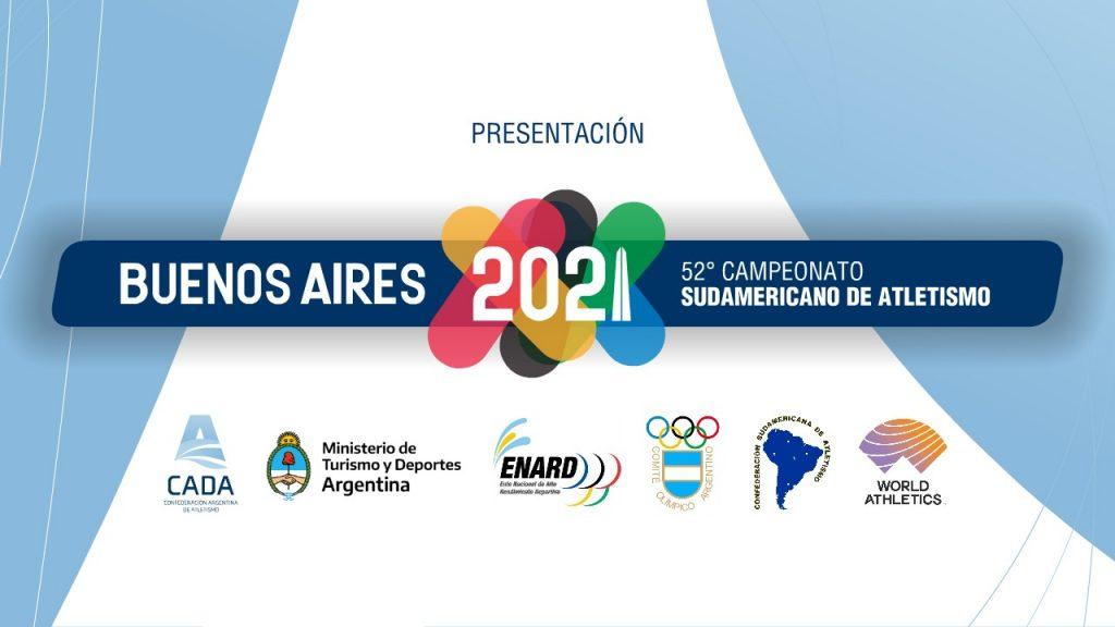 Anuncio del Sudamericano de Atletismo de Mayores 16