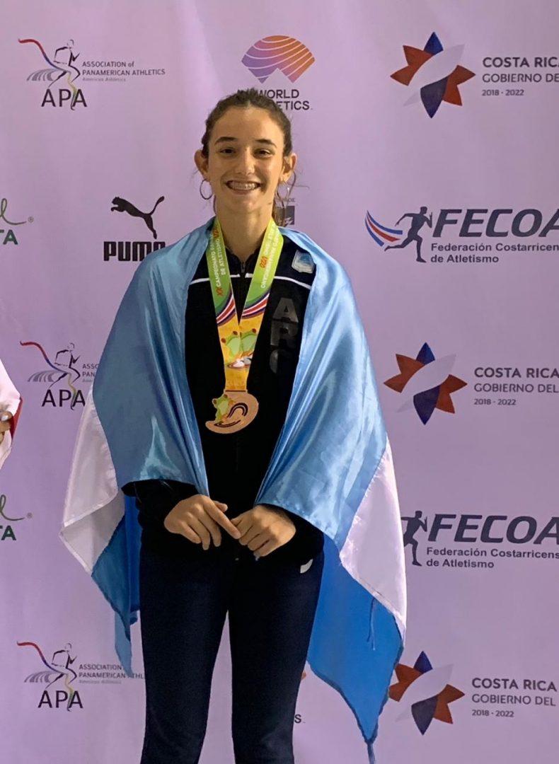 Tercera medalla argentina: Luciana Gómez-Iriondo 4