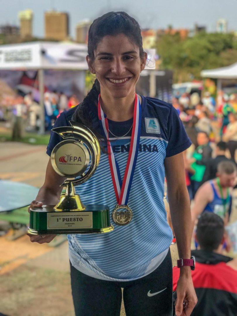 Daiana Ocampo, campeona sudamericana 4
