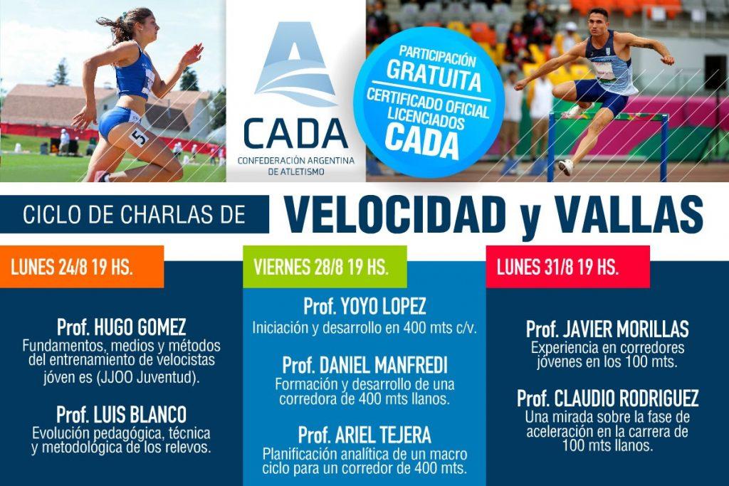 CHARLAS SOBRE VELOCIDAD Y VALLAS 2