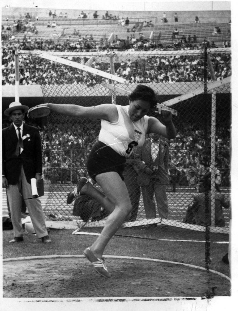 Isabel Avellán, finalista olímpica y una  historia romántica 2