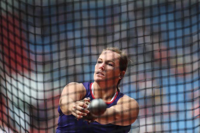 Jennifer Dahlgren, en la Continental Cup de Ostrava 1