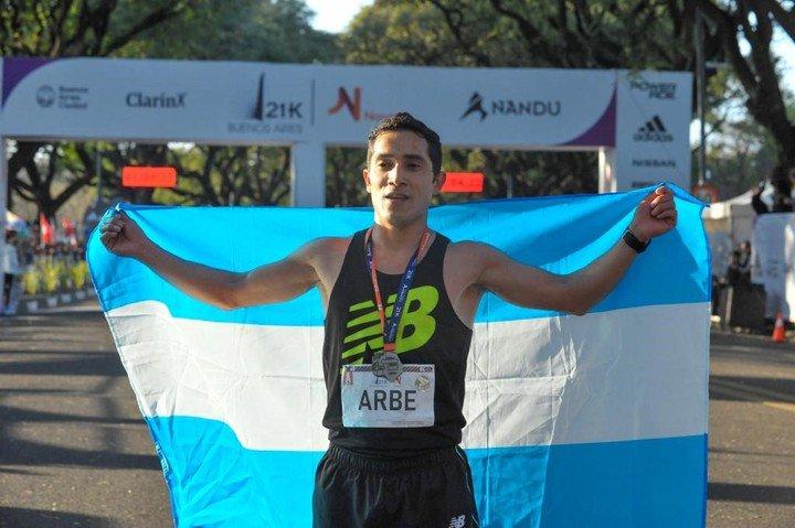 Joaquín Arbe, héroe argentino del 21k 3