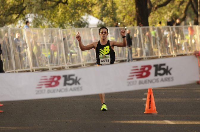 Arbe y Tesuri ganaron los 15k de Buenos Aires 1