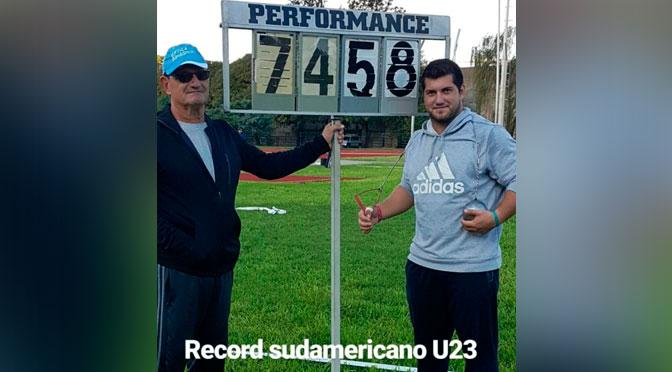 Récord sudamericano u23 de Joaquín Gómez 3