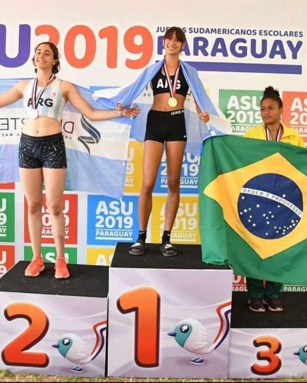 Otros tres triunfos argentinos en el Sudamericano Escolar 2