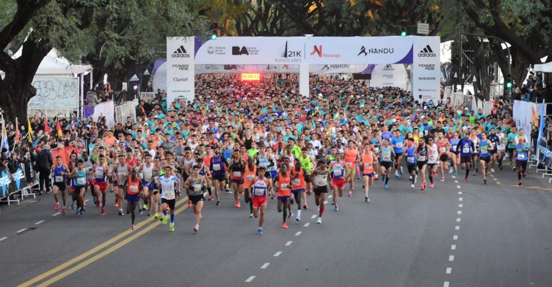 Expo Running, antesala del 21k de Buenos Aires 1