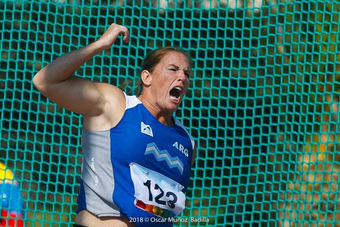 Jennifer Dahlgren: medalla de oro en Cochabamba 3