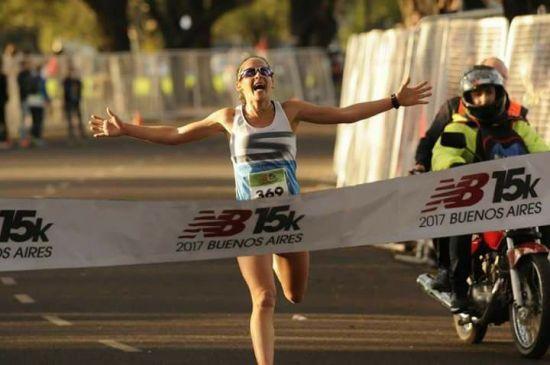 Las mujeres, hacia el título nacional de los 21k en Buenos Aires 1