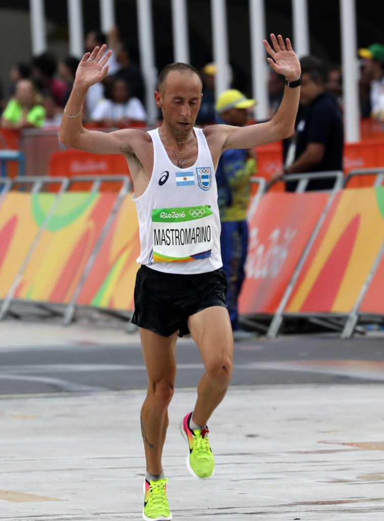 Argentina y su equipo para el Sudamericano de Maratón 1