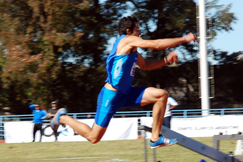 Maximiliano Díaz, segundo en Bolivia 2