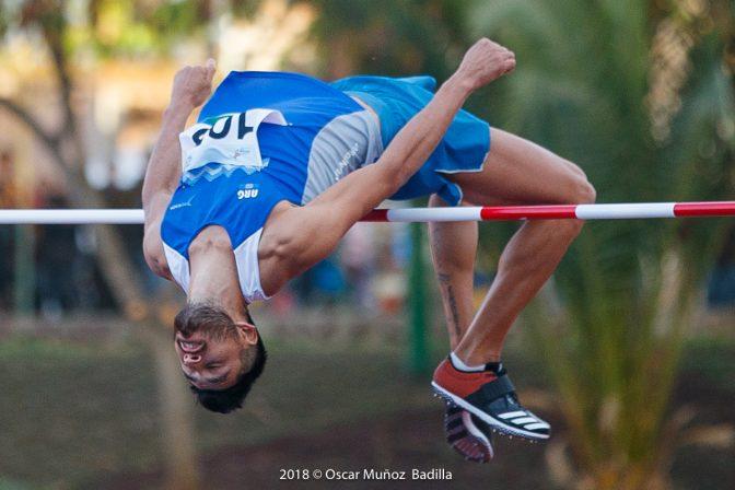 Layoy igualó el récord nacional de salto en alto 1