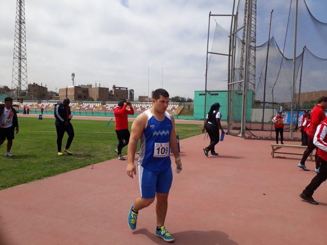 Primera medalla: Gómez, subcampeón en martillo 3