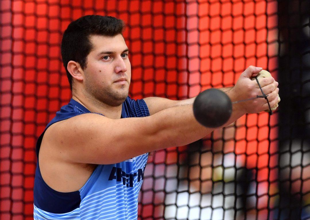 Joaquín Gómez, 70.17 en el Mundial de Doha 1