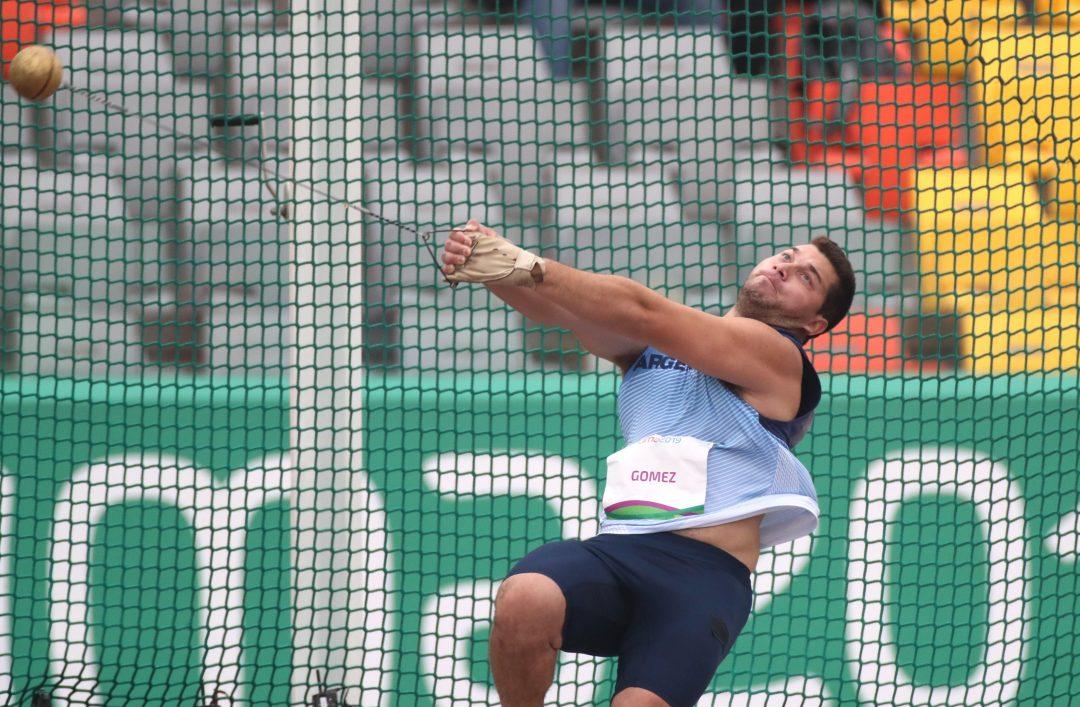 Joaquín Gómez, 5° en martillo 3