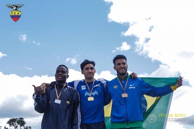 Gustavo Osorio, 5° en la lista mundial u18 2