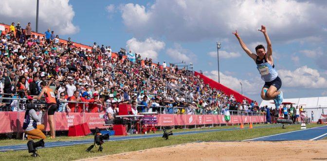 Fervor popular en Buenos Aires con los Juegos 3