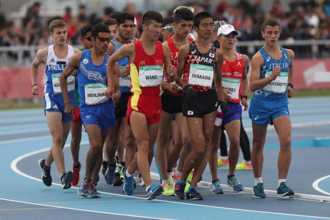 El día inaugural de los atletas sudamericanos 1