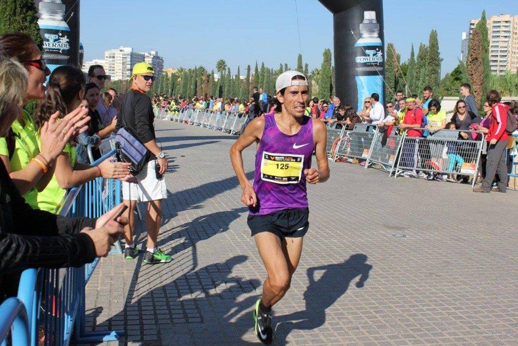 Bárzola, en el circuito de cross IAAF 6