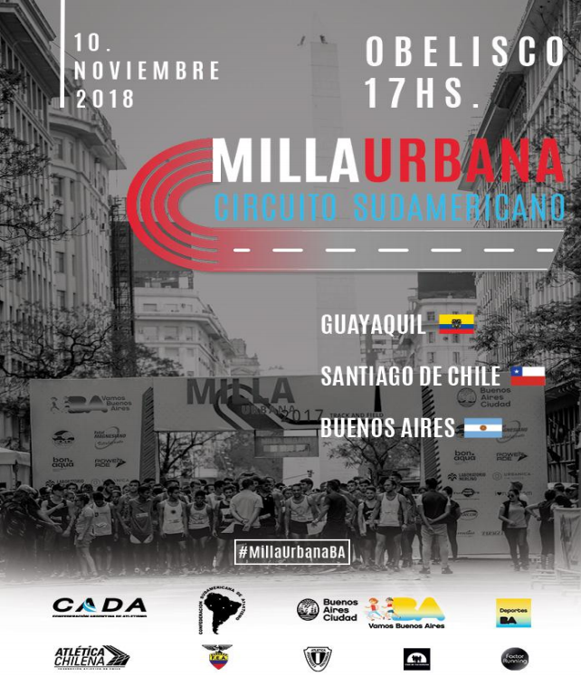 """2º Campeonato Nacional """"Abierto"""" de Milla Urbana - CABA 1"""