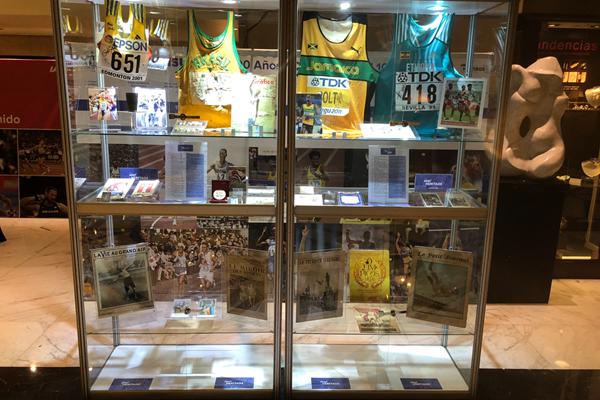 Piezas históricas del atletismo, junto a la reunión de la IAAF en Buenos Aires 1