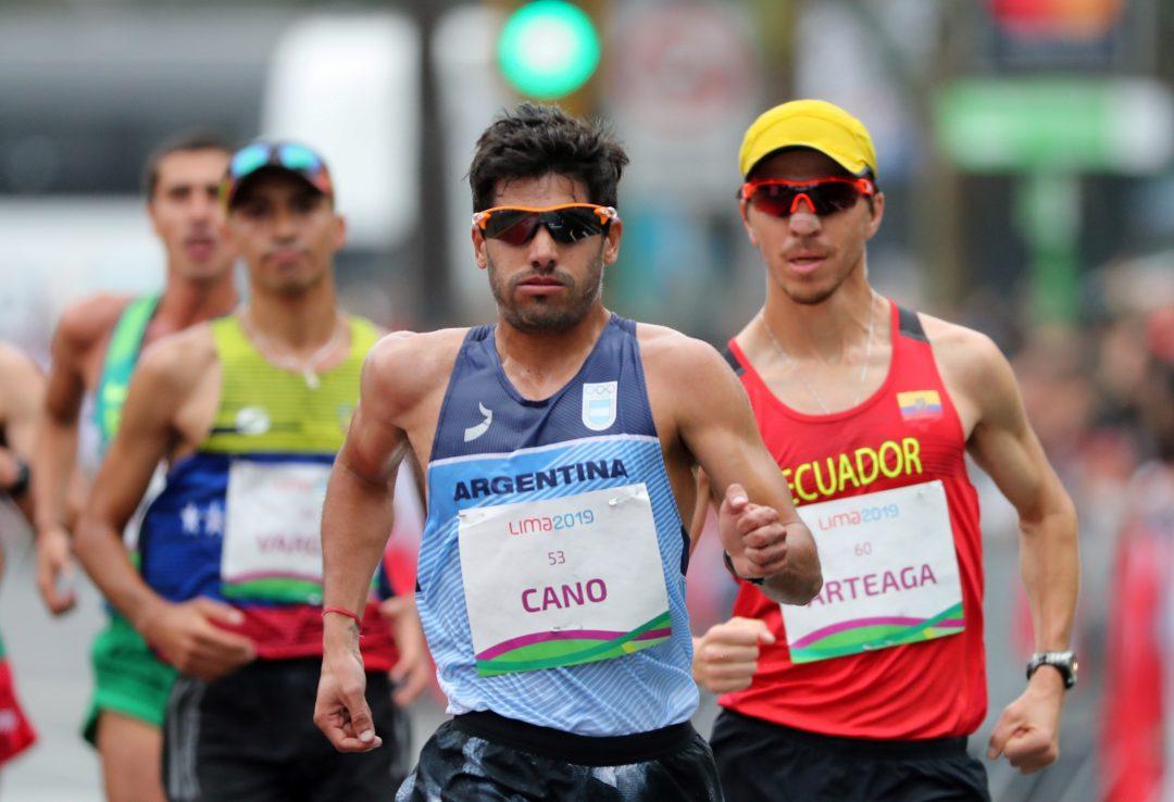 Cano terminó 10° en la marcha de los Juegos 1