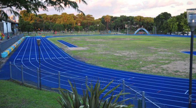Parque Chacabuco: la pista sintética, habilitada 1