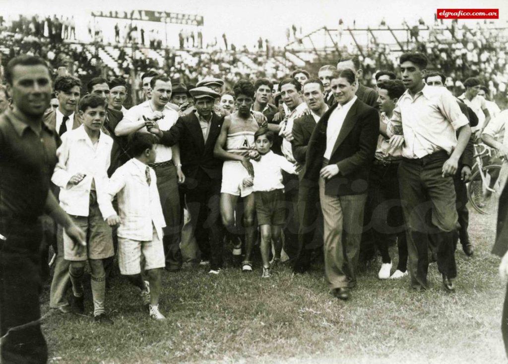 Raúl Ibarra, el atleta del pueblo 1