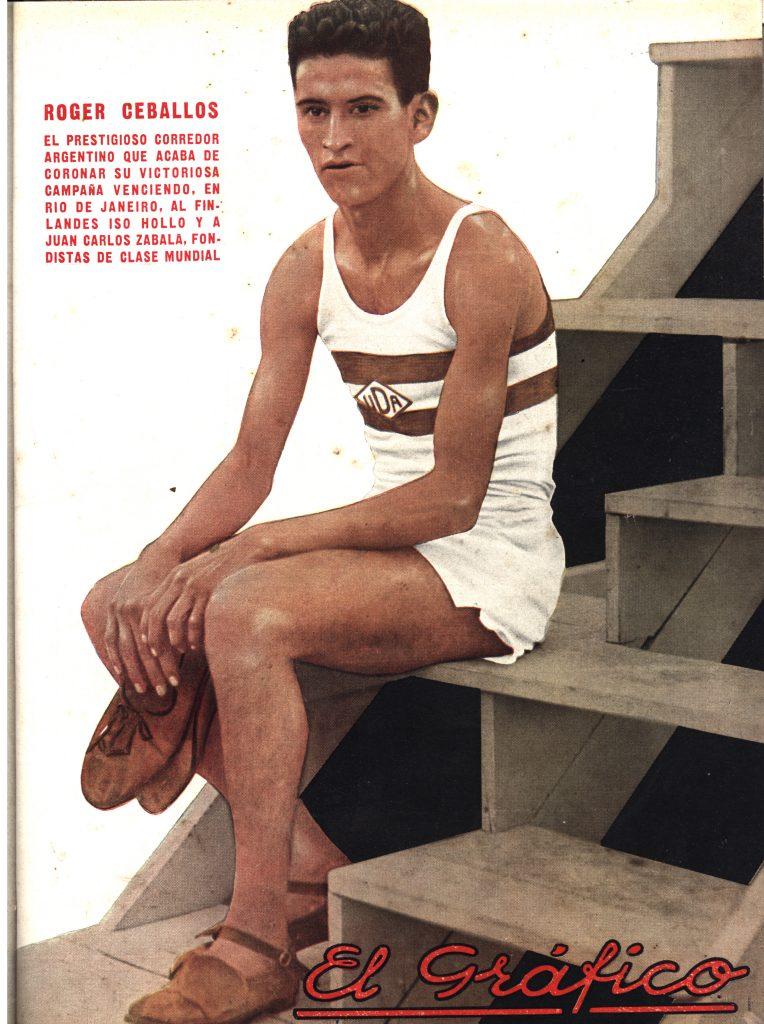 Roger Ceballos, el fondista que venció a dos campeones olímpicos 2