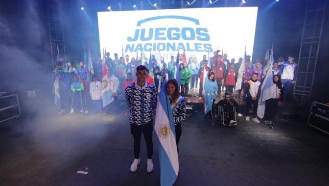 Los Juegos Evita y ovación para los olímpicos 2